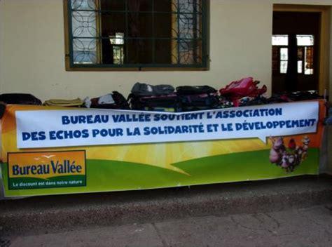 bureau la vall馥 bureau valle s 39 investit pour l 39 association les echos pour la solidarit et le dveloppement