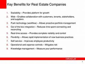 JD Edwards EnterpriseOne Real Estate Management