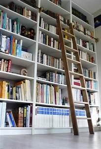 Bibliothèque Meuble Ikea : une chelle de biblioth que billy ~ Dallasstarsshop.com Idées de Décoration