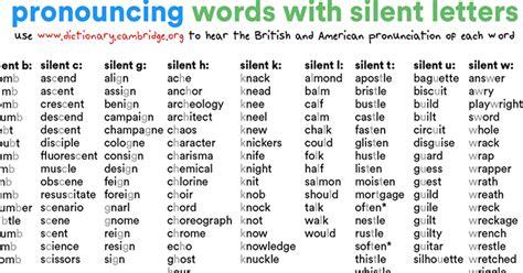 words that start with a silent letter forum pronunciation fluent land 32323