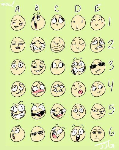 Meme Expression Faces - awesomesilver s journal deviantart