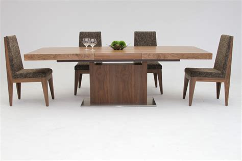 mid century modern end tables zenith modern walnut extendable dining table