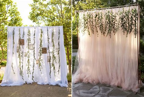 Photo Booth Diy Backdrop Ideas by 12 Creative And Affordable Diy Wedding Photo Booth Ideas