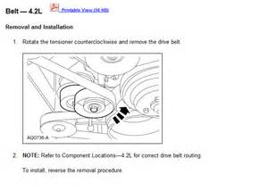 How You Replace Serpentine Belt With
