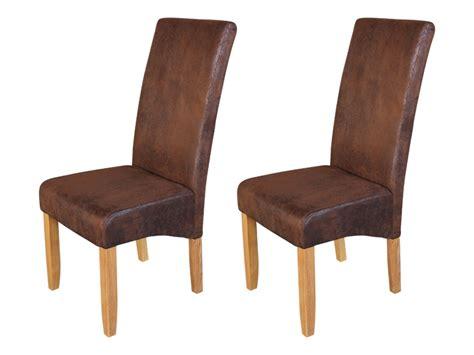 chaise salle a manger cuir modèle chaise salle a manger cuir vieilli