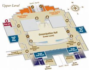 Capitol Visitor Center Indoor Map
