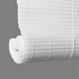 Store Enrouleur Blanc : store enrouleur lattes 150 x h180 cm pvc blanc store ~ Edinachiropracticcenter.com Idées de Décoration