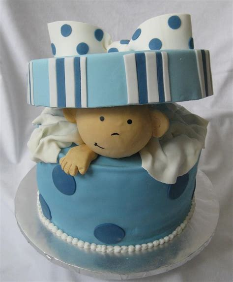 Cake Decoration Ideas For Boy by 70 Baby Shower Cakes And Cupcakes Ideas