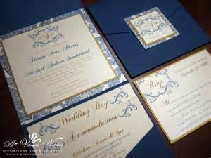 navy wedding invitations navy blue wedding invitation a vibrant wedding