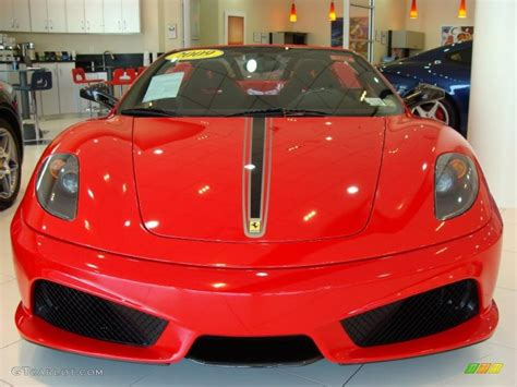 2009 Rosso Corsa Red Ferrari F430 16m Scuderia Spider