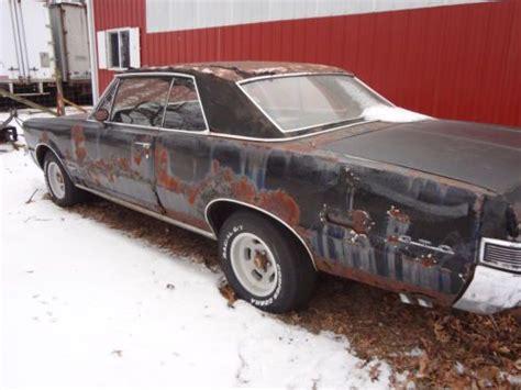 rusty car driving buy used 1965 gto 2 door hardtop orig rusty car