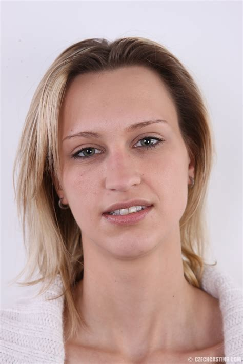 Todays Czechcasting Is A Ceremonial One Because The Fair Haired Lucie From Bilina North