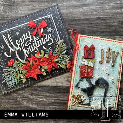 sizzix chapter  christmas tim holtz