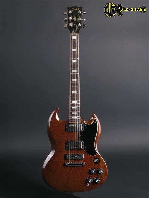 gibson sg standard  cherry guitar  sale guitarpoint