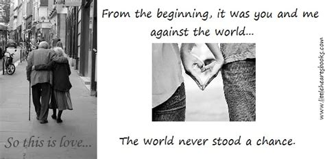 Lovers Against The World Quotes