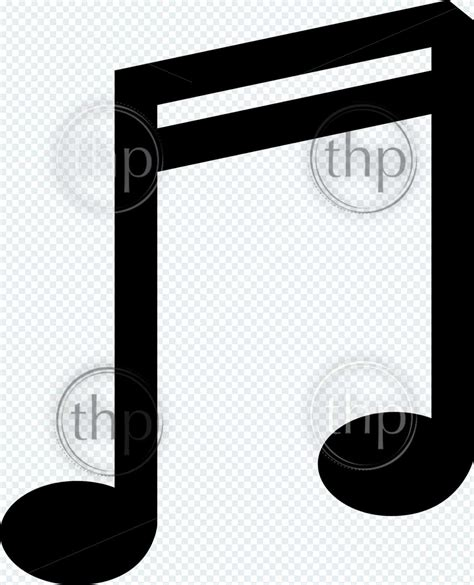 Most music has a regular beat (or pulse) which can be felt. Music double bar note symbol vector illustration in black and white - THPStock