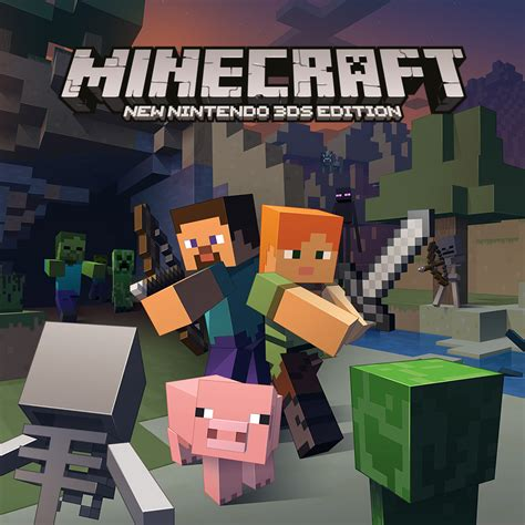 Minecraft New Nintendo 3ds Edition  New Nintendo 3ds