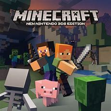 Minecraft New Nintendo 3ds Edition  New Nintendo 3ds  Jeux Nintendo