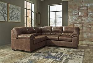 Bladen ashley sofa sectional contemporary faux leather for L sectionals couch ashley furniture