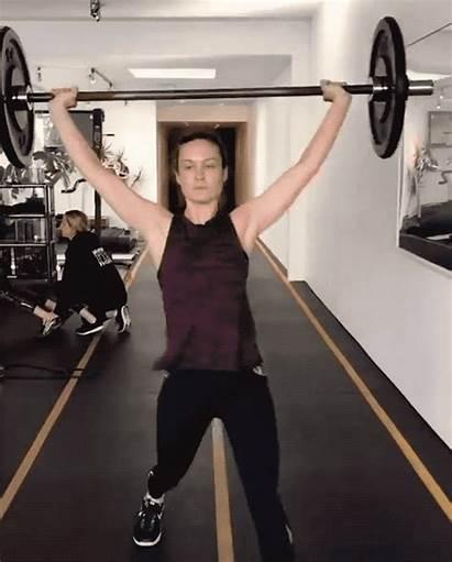 Brie Larson Captain Marvel Training Need Inspiration