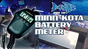 Using The Minn Kota Battery Meter To Monitor Your