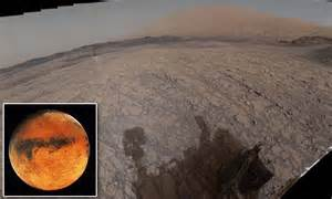 Soldier On Mars Rover Captures