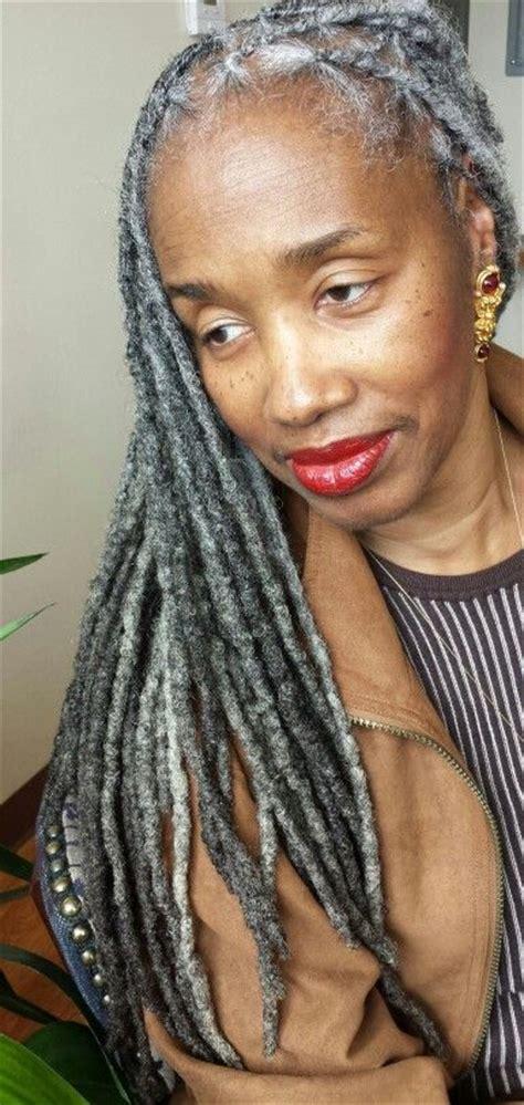 Gray Hair Gray Locks Photo And Hair Care By Shante