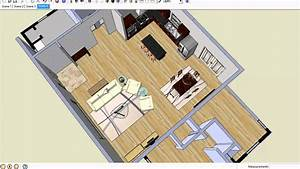 How to arrange furniture in open floor plans youtube for Arranging living room with open floor plans