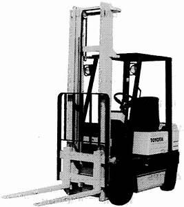 Toyota Forklift 5fgc10