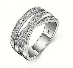 russian wedding ring size h genuine sterling silver 925 entwining entwined russian wedding ring size 60 sale ebay