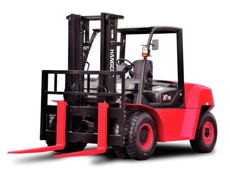 internal combustion counterbalance forklift truck