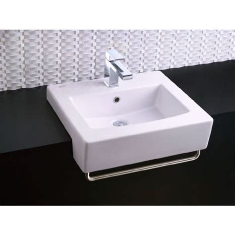 american standard semi recessed sink boxe semi countertop sink alternate image sinks
