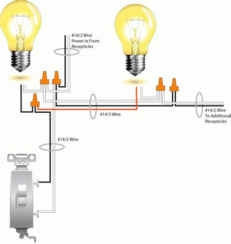 wiring diagram two lights one switch tciaffairs