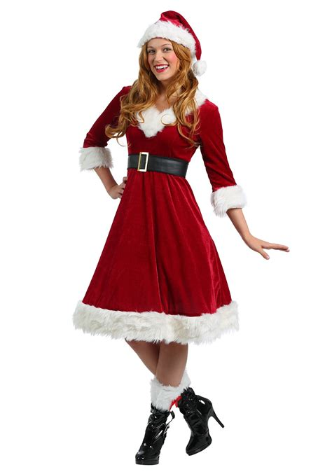 plus size santa claus sweetie costume for women