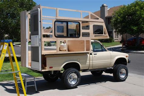 homemade pickup truck homemade cers plans google search pics pinterest