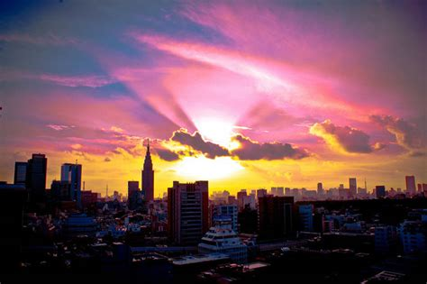 experience sunset sunrise  tokyo  viewing spots