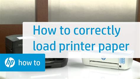 Hp officejet 2622 blækpatroner til fast lavpris. Loading Paper in HP Printers | HP Printers | HP - YouTube