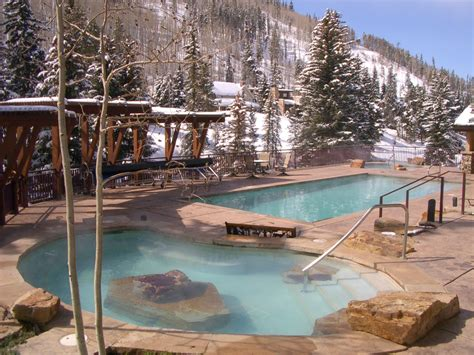 tubs in colorado antlers at vail hotel s new snow c ski and stay special