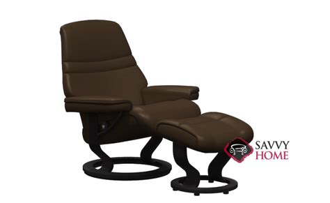 leather chair by stressless is fully customizable