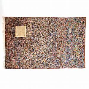 Petit Tapis Berbere : tapis berb re pois multicolores 255x155cm lampandco ~ Teatrodelosmanantiales.com Idées de Décoration