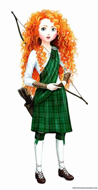 Merida Brave Disney Princess Develv Deviantart Scottish