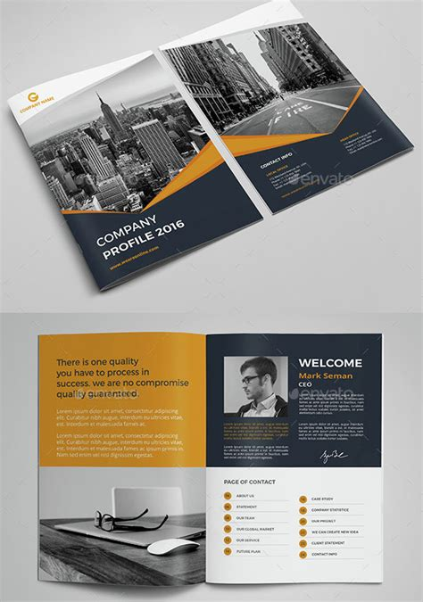 1 to 12 of 996 free personal website templates available on the free css site. 30 Awesome Company Profile Design Templates - Bashooka