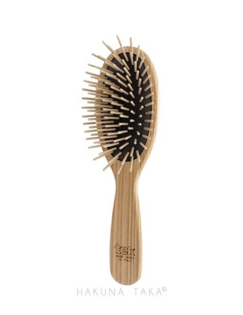 Brosse Rotative Cheveux Brosse 224 Cheveux En Bois Avec Picots En Bois