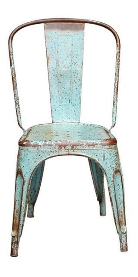 chairs turquoise and metal chairs on