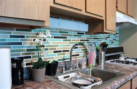 diy tile kitchen backsplash affordable diy backsplash mosaic tile paint project