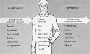 Psychology Independent and Dependent Variables Examples
