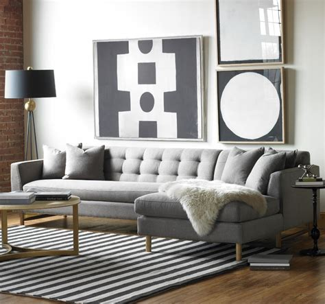 Gray Sectional Living Room Ideas by Designing Rooms With An L Shaped Sofa Feng Shui Interior