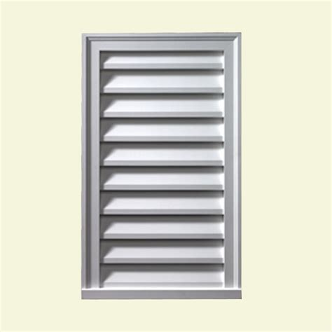decorative gable vents canada fypon 18 inch x 36 inch x 2 inch polyurethane decorative