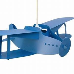 Suspension Pour Chambre : lampes design suspension chambre enfants avion bleu ~ Teatrodelosmanantiales.com Idées de Décoration