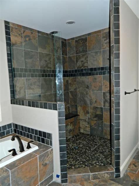 ideas  slate shower  pinterest slate